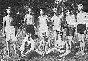 Saaprun ja Enkkuan urheilijoita v. 1932